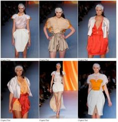 Crystal Tsoi's work at Rosemount Australian Fashion Week