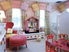 Interesting Toddlers Room Decorating Ideas With Handsome Decor Style: Awesome Toddlers Room For Kids Room Decorating Ideas Girls As Excellent Photos ~ last-times.com Bedroom Design Inspiration