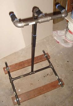 DIY Home Bicycle Repair Stand