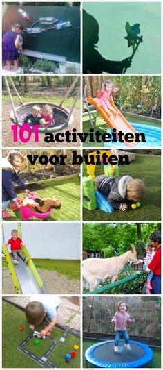 101 activiteiten, spelletjes en uitstapjes buiten - Mamaliefde.nl