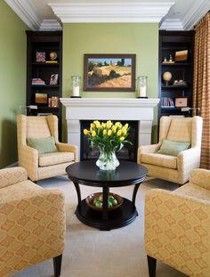 Imaginative Green Bookshelves with Window Seat Bench Storage
