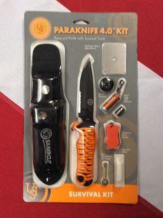 Paraknife 4.0 kit survival kit  emergency disaster tactical preparedness UST #UST