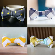 Miniature bow ties. I think all pets need these as collars.