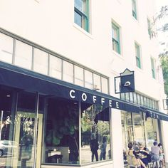 This is my middle of the week coffee fix and it's a nice excuse to go shopping for a growing toddler.  Now she needs casual everyday shoes can you tag your favorite shops? #coffeeshopcorners