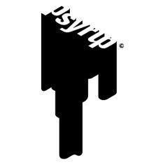 Psyrup logo for design agency