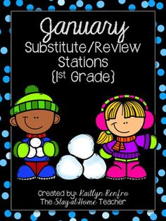 Make planning your intervention/review and substitute activities fun and easy with these winter themed stations! All activities review Math, Phonics and ELA skills previously taught and are on the perfect level for small groups or independent station time.