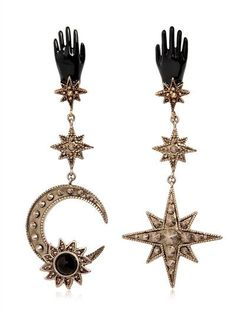 EARRINGS - ROBERTO CAVALLI - LUISAVIAROMA.COM - WOMEN'S FASHION JEWELRY - FALL WINTER 2016 - LUISAVIAROMA.COM
