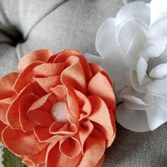 Flowers ~ I think I could make these.
