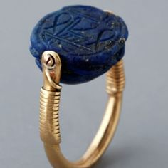 Egyptian Ring.. These designs are always fun to choose which side to wear.