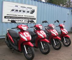 New 2013 Honda Vision scooters for CBT. #valueformoney