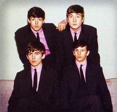 Paul McCartney, John Lennon, George  Harrison, and Richard Starkey
