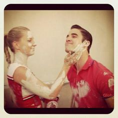 Heather and Darren on Glee