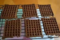 Come Together Kids: Cake Mix Waffles - I made these and then made the BEST ice cream sandwiches from them like she suggested!