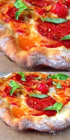 Authentic Italian pizza dough recipe, thin crust Neopolitan style #Italian #Vegan #PizzaRecipes