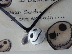 Jack Skellington Believe Bell for the darker side of Christmas....bah humbug..