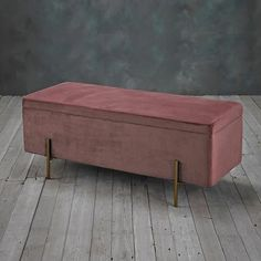 The stylish velvet Vintage Rose Pip Ottoman is the perfect upholstered storage bench for any. Vintage Velvet, Vintage Roses, Bedroom Ottoman, Upholstered Storage Bench, Ottoman Storage, Ottoman Stool, Blanket Box, Make Arrangements, Storage Spaces