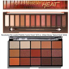 Urban Decay Dupes/revlon re-loaded palette iconic fever Eyeshadow Dupes, Drugstore Makeup Dupes, Beauty Dupes, Beauty Makeup, Elf Dupes, Lipstick Dupes, Urban Decay Dupes, Urban Decay Palette, Urban Decay Makeup