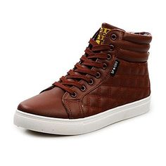 brand new e564e 932ba The Best Mens Shoes And Footwear  Mens Flat Heel Comfort Fashion Sneakers  with Lace-