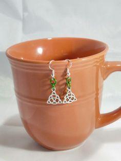 Celtic Knot Earrings #Celtic #Etsy #Earrings