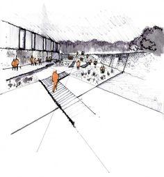 Ganador Archiprix Chile 2013: Paseo Gastronómico y Centro Cultural / Santiago Beckdorf | Plataforma Arquitectura