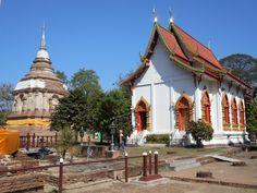 Wat Chet Yot in Chiang Mai, Thailand.
