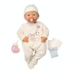 Baby Annabell Doll - Annabell is just like a real baby ...
