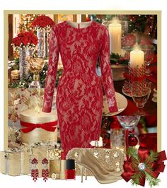 """""""Christmas Day"""" by ritadolce ❤ liked on Polyvore"""