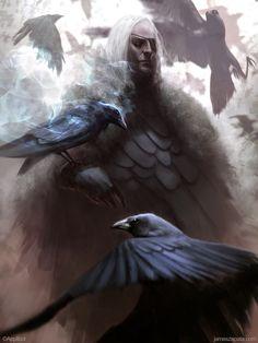 James Zapata Concept Art and Illustration - fantasy art James Zapata, Thor, Les Runes, Crows Ravens, Asatru, Norse Mythology, Deviantart, Statue, Gods And Goddesses