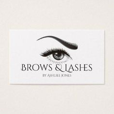 #makeupartist #businesscards - #Eyebrows Microblading & Eyelash Extensions Salon Business Card #EyelashExtensionsStyles Business Card Makeup, Salon Business Cards, False Eyelashes Tips, Fake Eyelashes, Eyelashes Drawing, Longer Eyelashes, Mascara Tips, How To Apply Mascara, Eyelash Extensions Before And After
