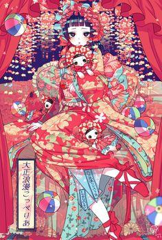 Pixiv Id 6176367 Image - Zerochan Anime Image Board Manga Art, Anime Art, Anime Cover Photo, Hello Kitty Images, Illustration Art Drawing, Sketchbook Inspiration, Cute Anime Wallpaper, Anime Life, Japan Art