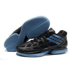 61cc39ba2f19 Adidas Adizero Crazy Light Rose Low MVP 9.8 Ounces Black Blue Men Basketball  Shoes  79.6