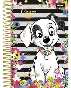 Caderno Clássicos Disney Caderneta 1/8 Capa Dura