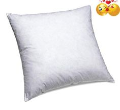 #stylish Why choose a #ComfyDown Pillow Insert? Add flair and comfort to your home with this new ComfyDown plump pillow insert, covered with your favorite cover!...
