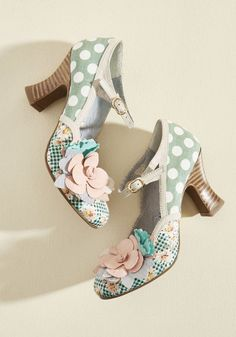 Ruby Shoo Mix and Marvel Mary Jane Heel in Mint #ad