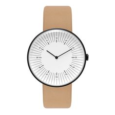 The Outline white and nude watch by Nomad combines a modern colour combination with a pared-back aesthetic.