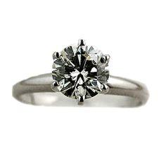 Solitaire Engagement Rings   Carat Round Diamond Engagement Solitaire Ring