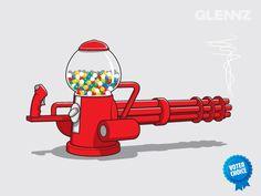 Glenn Jones #Ilustración   OLDSKULL.NET