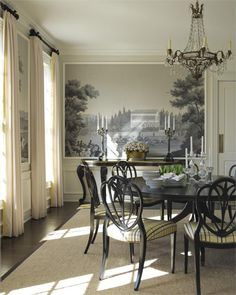 Classic Traditional Dining Room by Gideon Mendelson! O U T S T A N D I N G !!