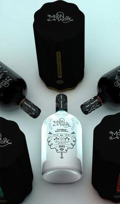 wine label design inspiration   graphic design   Pinterest   Wine ...