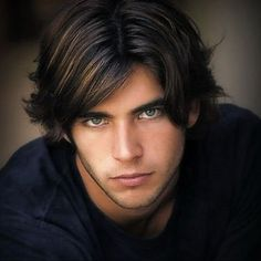 Men's Short Wave Mixed Color Lace Front Human Hair about 8 inches Beautiful Men Faces, Gorgeous Eyes, Short Waves, 100 Human Hair, Male Beauty, Wig Hairstyles, Pretty Boys, Short Hair Styles, How To Look Better