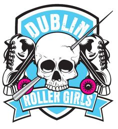 Dublin Roller Girls, I really like the logo.