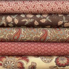• Fabric 1 Yards total=3/4  • Fabric 2 Yards total=1/4 (1 fat quarter)  • Fabric 3 Yards total= 1/4 (1 fat quarter)  • Fabric 4 Yards total = 1 Yard  • Fabric 5 Yards total= 1/4 (1 fat quarter)