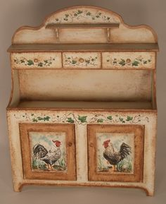 Rooster Server by Karen Markland