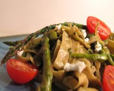 Grain-Free Asparagus Pesto Pasta Recipe | The Daily Meal