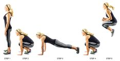 Our 5 Favorite Fat-Blasting Burpee Variations | Skinny Mom | Where Moms Get The Skinny On Healthy Living