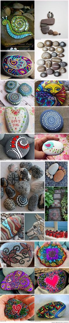 Great Idea for Stone Art                                                                                                                                                                                 More