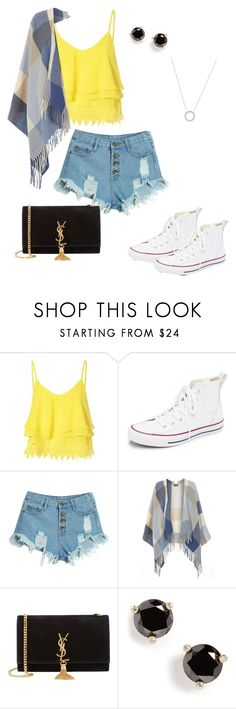 """""""Untitled #59"""" by raregold on Polyvore featuring beauty, Glamorous, Converse, WithChic, Dorothy Perkins, Yves Saint Laurent, Kate Spade and Michael Kors"""