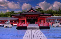 Itsukushima Shrine at High Tide by AndySerrano.deviantart.com on @DeviantArt