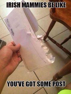 Ireland mail