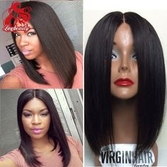 (36.00$)  Watch here  - 14-18 inch stock black #1b short bob synthetic lace front wigs heat resistant glueless lace wig for black women